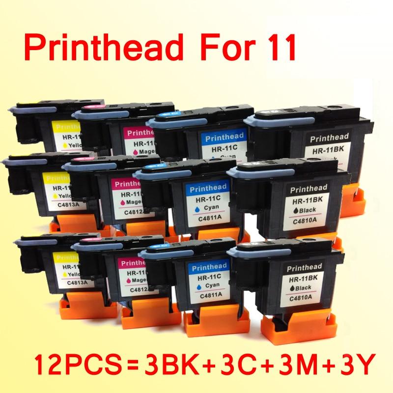 12 pcs testina di stampa compatibile per hp 11 cc800ps cp1700ps 800 ps 1000 1100 1200 2200 2230 2250 stampante12 pcs testina di stampa compatibile per hp 11 cc800ps cp1700ps 800 ps 1000 1100 1200 2200 2230 2250 stampante