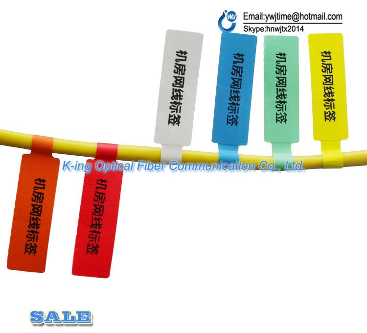 Image 3 - FTTH Fiber Optic Tool Network Cable Labels Sticker 900 Pieces 30 PCS A4 Size Color Blank Label Waterproof Tearproof oilproofFiber Optic Equipments   -