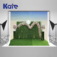 KATE Wedding Flowers Photography Backgrounds Sea Party Decorations Photobooth Backdrop Stage Photography Studio Prop Backdrop