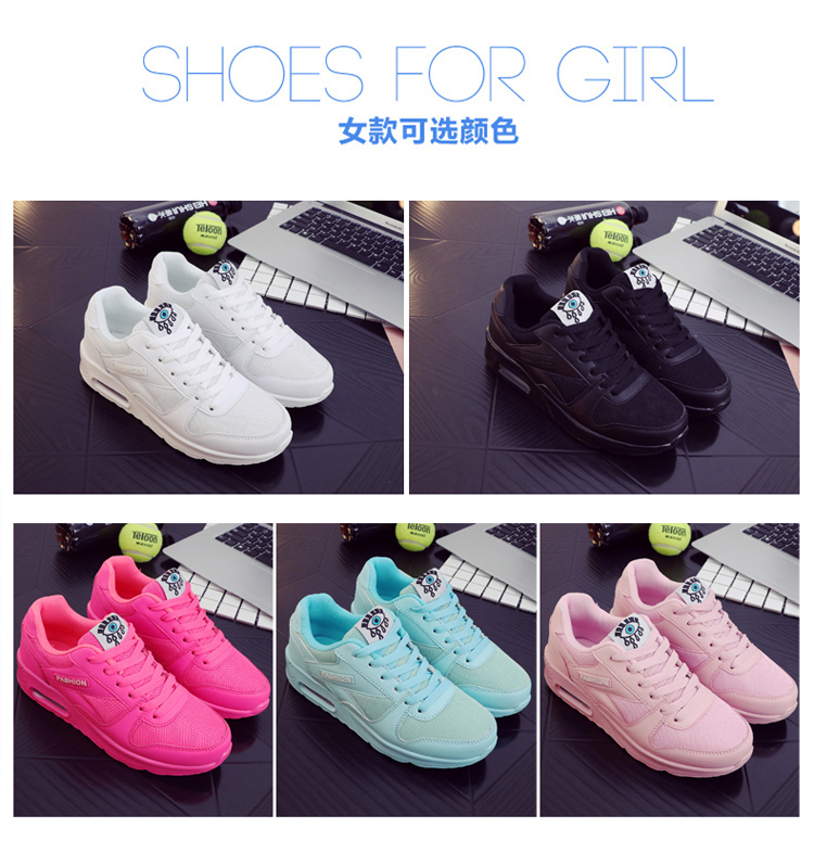 18 Fashion Sneakers Women Shoes Spring Tenis Feminino Casual Shoes Outdoor Walking Shoes Women Flats Pink Flas Ladies Shoes 17