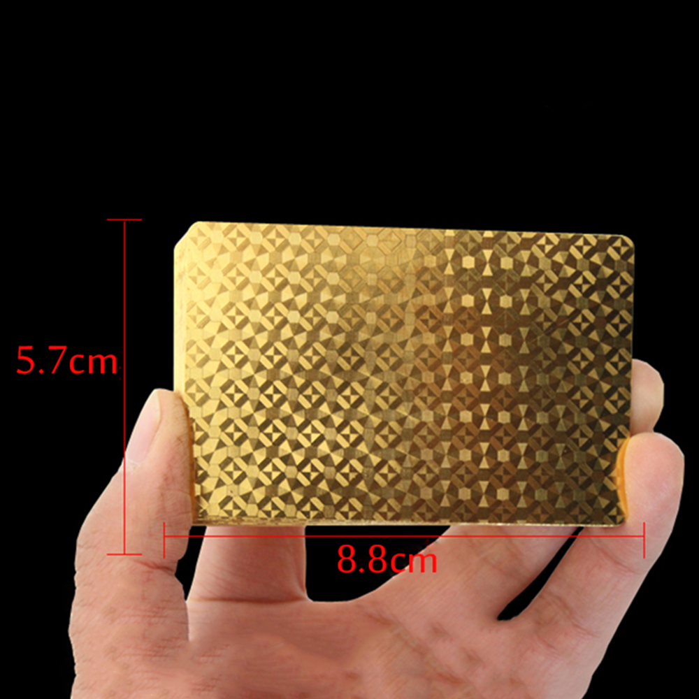 1-Set-Golden-Playing-Cards-Deck-gold-foil-poker-set-Magic-card-24K-Gold-Plastic-foil-poker-Durable-Waterproof-Cards-5