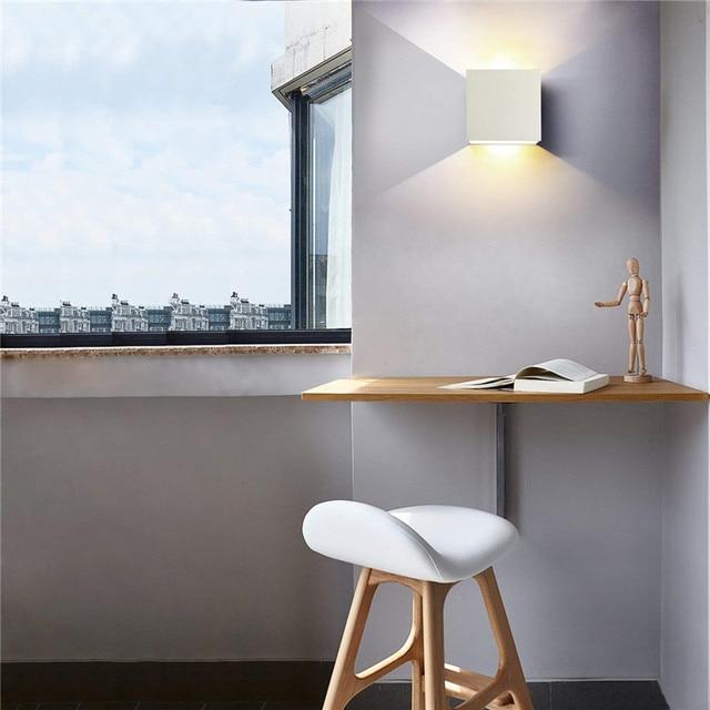 6W LED Wall Lamp Modern Bedroom Beside Reading  5