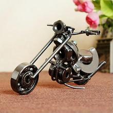 Фотография Trumpet Iron Motorcycle metal crafts home decoration Decoration