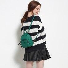 2017 New Women Brand Mini Backpack Purse for kids Fashion Crossbody bag Small Bagpack Shoulder Bag School Bags For Teenage Girls