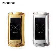 2pcs/lot RFID 125kHZ Swimming / bathing with electronic lock locker, cabinet locks,125K frequency, +2 card