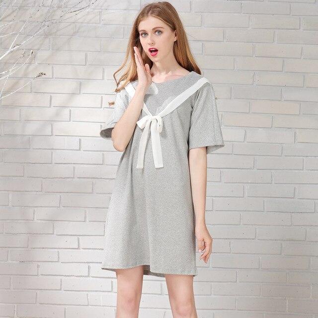 96e7083efd5c5 Letnie ubrania ciążowe Piersią opieki pielęgniarskiej odzież sukienka  Sukienka dla Kobiet W Ciąży sukienki ciążowe duży