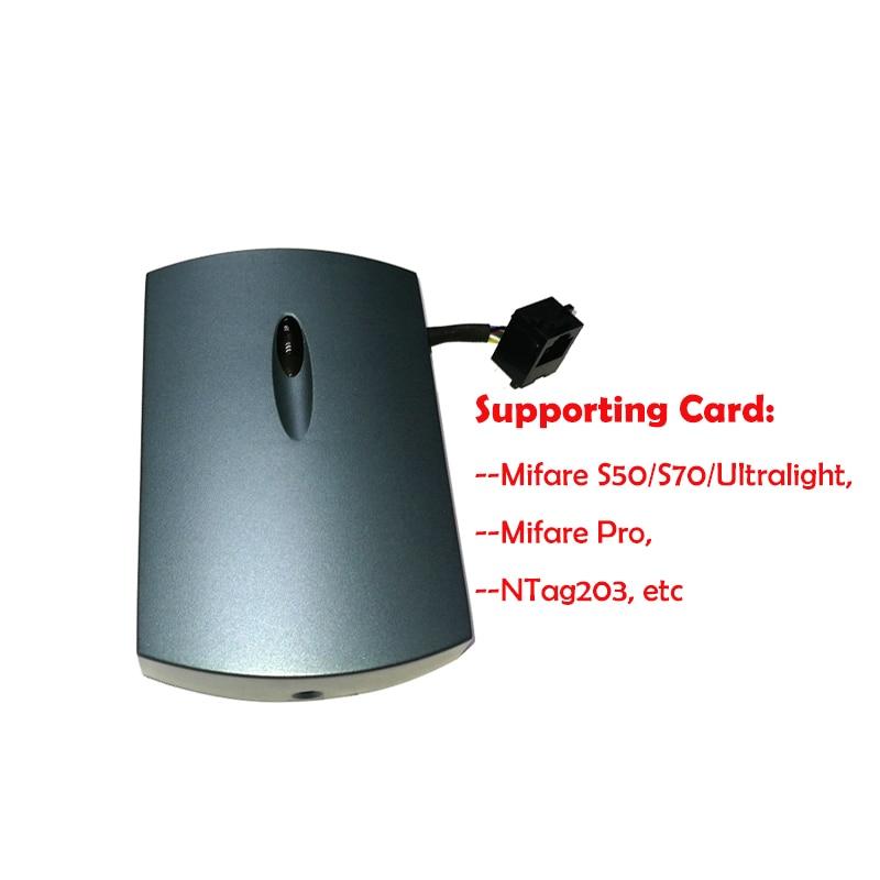 NFC RFID carte à puce 13.56 MHz lecteur de carte à puce tcp/ip (POE) + interface WIFI HDM8540 - 3