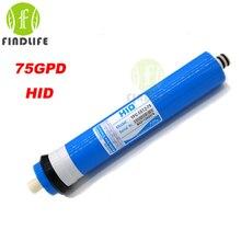 2016 HID TFC 1812-75 GPD мембраны RO 5 этап фильтр для воды очиститель лечения обратного осмоса NSF/ANSI Стандарт