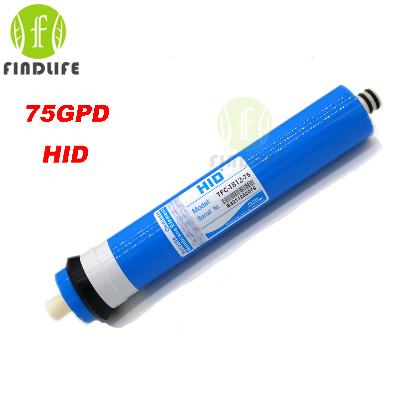 HID TFC 1812 75 GPD RO membrane for 5 stage water filter purifier treatment reverse osmosis
