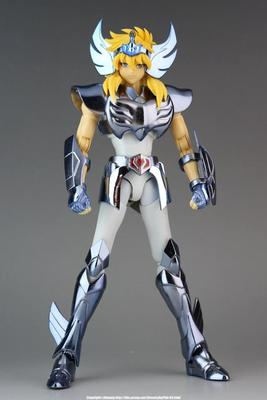 In stock Hyoga Cygnus GT model Saint Seiya Helmet Cloth Myth Bronze cloth EX Saint Seiya Action Figure Collectible Model Toys lc model toys saint seiya cloth myth ex gold saint capricorn shura action figure classic collection toys brinquedos