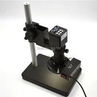 2MP HD цифровой промышленный микроскоп камера для промышленная лаборатория VGA видео выход + c крепление объектива + 72 светодиодный свет + подста