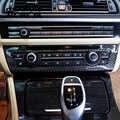 Voiture style Fiber de carbone climatisation CD boutons de commande panneau couvre autocollants pour BMW 5 série F10 F18 accessoires d'intérieur