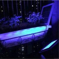LED Solar Panel Super Bright Street Lawn Light Sensor Outdoor Garden Landscape Lamp Super Bright Colorful Home Floodlight Decor