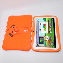 New 7 inch Allwinner A33 Quad Core Kids Tablet PC Android 4.4 Dual Camera 1024*600 wifi bluetooth with bigger speaker