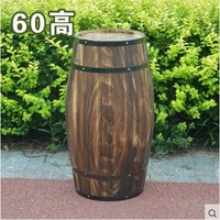 Oak 60cm high decorative wood wedding photography props grape cask wine cask barrel custom bar