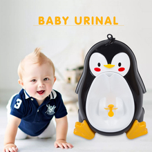 Baby Boys Standing Urinal Penguin Shape Wall Mounted Urinals Toilet Training Children Stand Vertical Urinal Potty