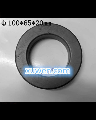 Free Shipping 1/PCS  The core of manganese Ferrite core Magnetic materials Magnetic ring anti-interference 100*65*20mm