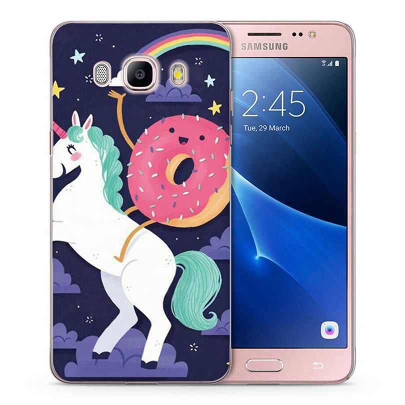 Чехол для Samsung Galaxy A3 A5 2016 2015 2017 Премьер J1 J2 J3 J5 J7 G530H S8/плюс Примечание 8 ТПУ милые мягкие Единорог Окрашенные чехол C044