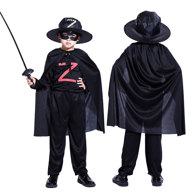 Kinderkleding Kostuum.Halloween Kinderkleding Jongens Zorro Gemaskerde Ridder Kostuum