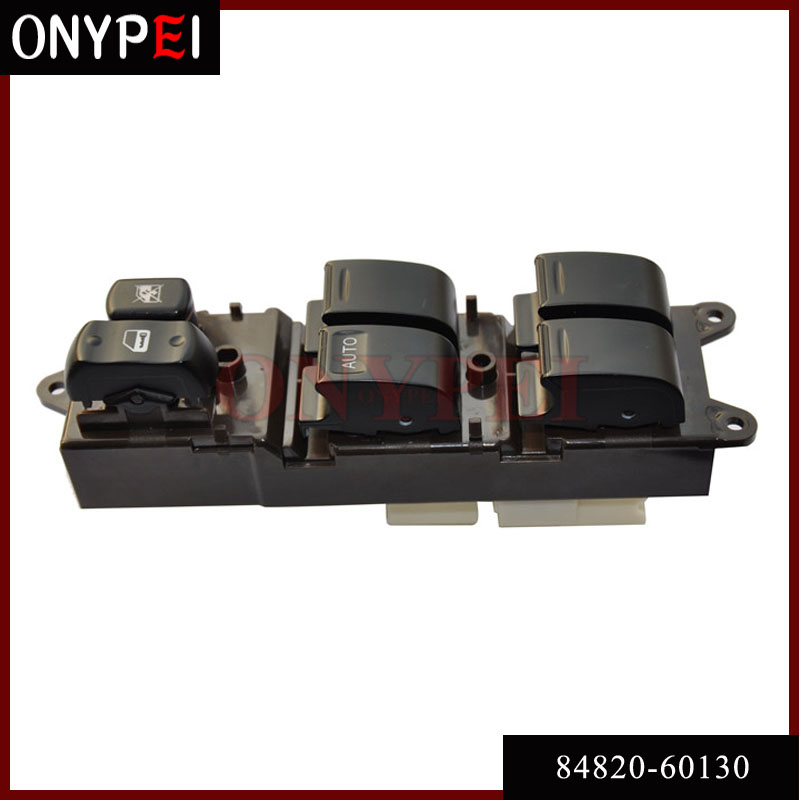 Power Window Master Switch 84820-60130 For 1998-2007 Toyota Land Cruiser 100 105 8482060130 цена 2017