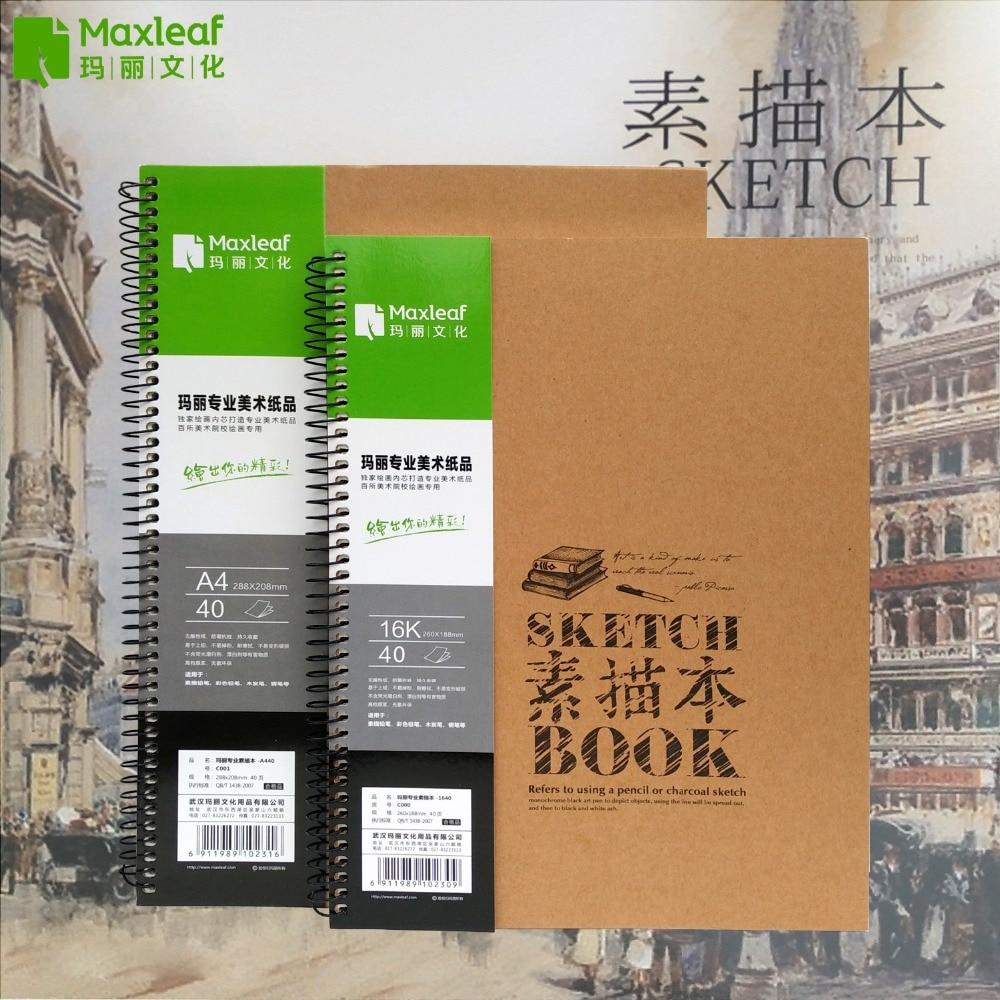 V4 Sketchbooks A4 16K Draw Book Book Illustrating ուրվագծեր Paiting Drawing Diary Journal Journal Creative Notebook Art Supplies