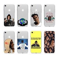 O cantor de Rap YNW Melly Scarlxrd Todos Nós Brilhar Macio TPU Capa de Silicone para o iphone 11 11pro 11promax 8 7 6 Plus 5 X XS Max XR Coque