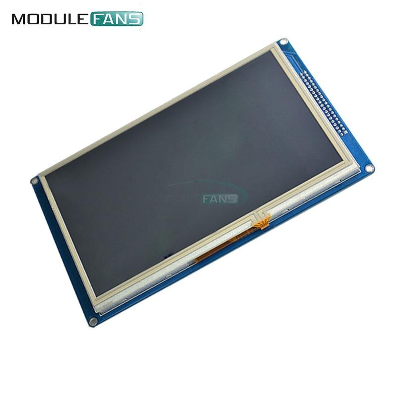 Lcd Module Neue 7 zoll Tft Lcd Modul 800x480 Ssd1963 Touch Pwm Für Arduino Avr Stm32 Arm 800*480 800 480 Digital Control Board