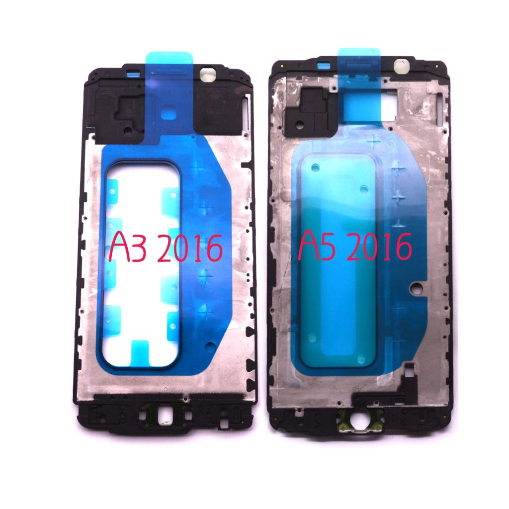 Original New Front panel Bezel Frame Faceplate Housing Replacement for <font><b>Samsung</b></font> Galaxy A3 2016 A310F A310FD A5 2016 <font><b>A510F</b></font> A510FD image