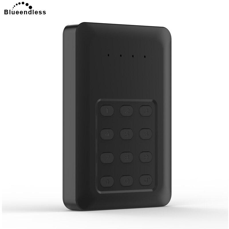 Pour ordinateur portable 320g disque dur externe 2.5 ''sata disque d'état mécanique avec boîtier de cryptage haute sécurité dur disco duro externo