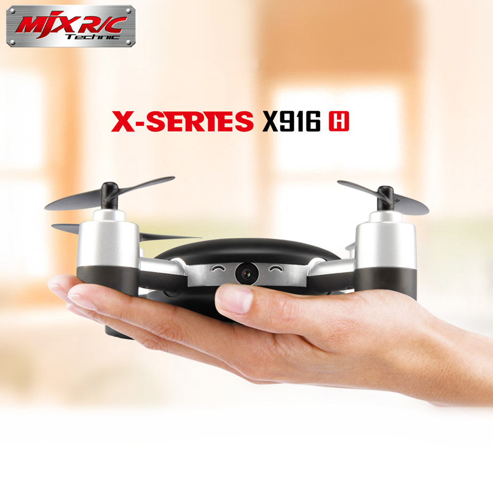 MJX X916H RC Quadcopter 2.4Ghz 4CH 6 Axis Gyro with 0.3MP Wifi FPV Camera Helicopter RTF Mini Drones UAV Gift Toy for Kids fpv x uav talon uav 1720mm fpv plane gray white version flying glider epo modle rc model airplane