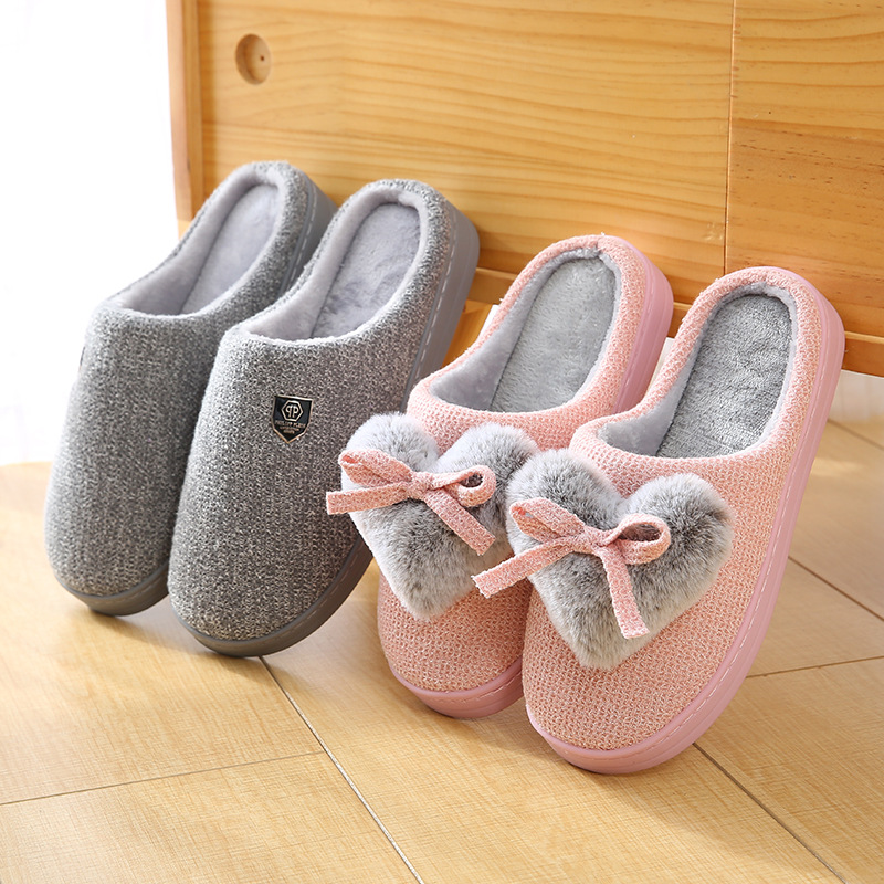 new-style-cotton-slippers-in-winter-indoor-loving-couple-cotton-slippers-ribbed-floor-anti-skid-wear-resistant-thick-sole
