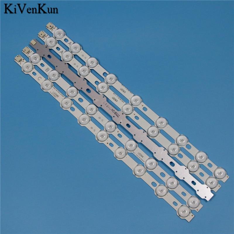 9 Lamps 355mm LED Backlight Strip For LG LG 39'' TV 39FLHY168D VES390UNDC-01 VES400UNDS-02 39PF3025D 39FHD-CNOV LC-39LD145K Bars