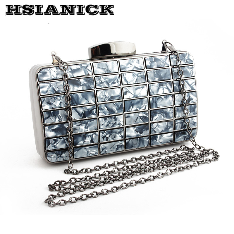 2018 new design luxury dress bag handbag female clutch handbag high-grade retro Messenger bag dinner party handbag evening bag 2017 time limited patchwork hard female colorful diamond new design luxury evening bag handbag dinner party prom wedding clutch