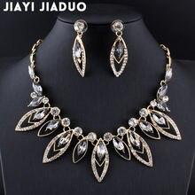 d5aac6a8e0c2 Jiayijiaduo 2017 joyería para mujer decoración de cuentas africanas  conjuntos de joyas de color dorado conjunto de collar de acc.