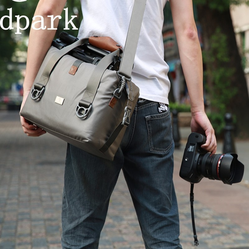 D-park Laptop Case Camera Hand Bag Shoulder Portable Bag Protection Package Men And Women Anti-theft Waterproof Classic Black