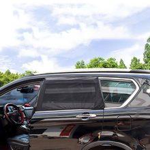 2 шт. автомобильный солнцезащитный козырек УФ-защита занавеска Автомобильная Солнцезащитная шторка боковая сетка на окно козырек летняя Защитная оконная пленка солнцезащитный навес