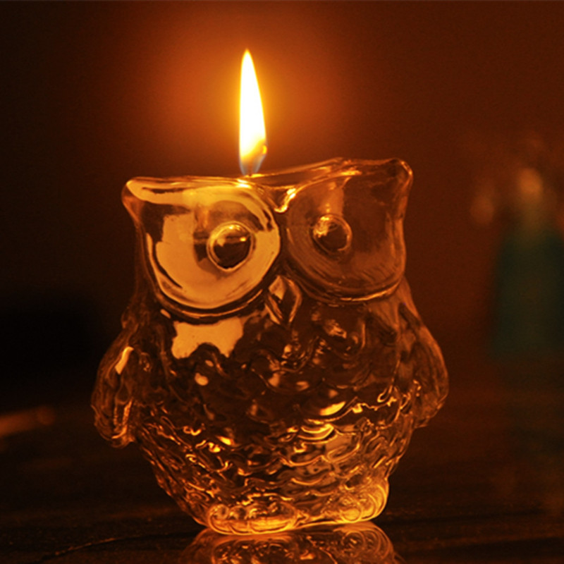 Us 5 99 22 Off Owl The Ancient Greek Goddess Of Wisdom Athena S Sacred Bird Symbol Of Mystery Wisdom Candle Gift Sets Home Decoration In Candle