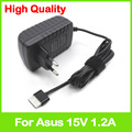 15V 1.2A 18W AC Wall adapter power supply for Asus VivoTab RT TF600 TF600T TF600TD TF600TL TF701T TF810 TF810C EU plug charger