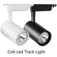 6pcs COB 20W 4000K Led Track light aluminum Ceiling Rail Track lighting and 6pcs 0.5m Track l