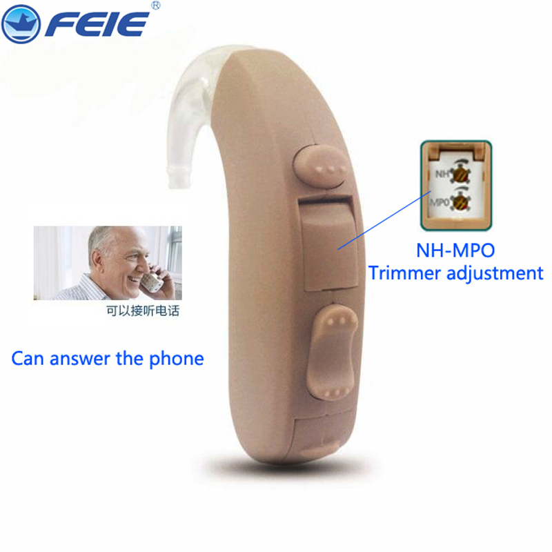 Hearing Aid Digital 100% Digital Chip Hearing Aids 2 Program MPO Adjustment Super Quite As Seen On TV Hearing Amplifier MY-13 feie s 12a mini digital cic hearing aid as seen on tv 2017 aparelho auditivo digital earphone hospital free shipping