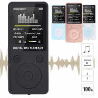 MP3 walkman music player Lossless Sound HIFI Music MP3 Player support 32G memory card FM Recorder walkman player mini mp3 плеер