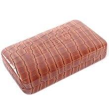 Cuesul коричневый Роскошный чехол для дротиков PU материал