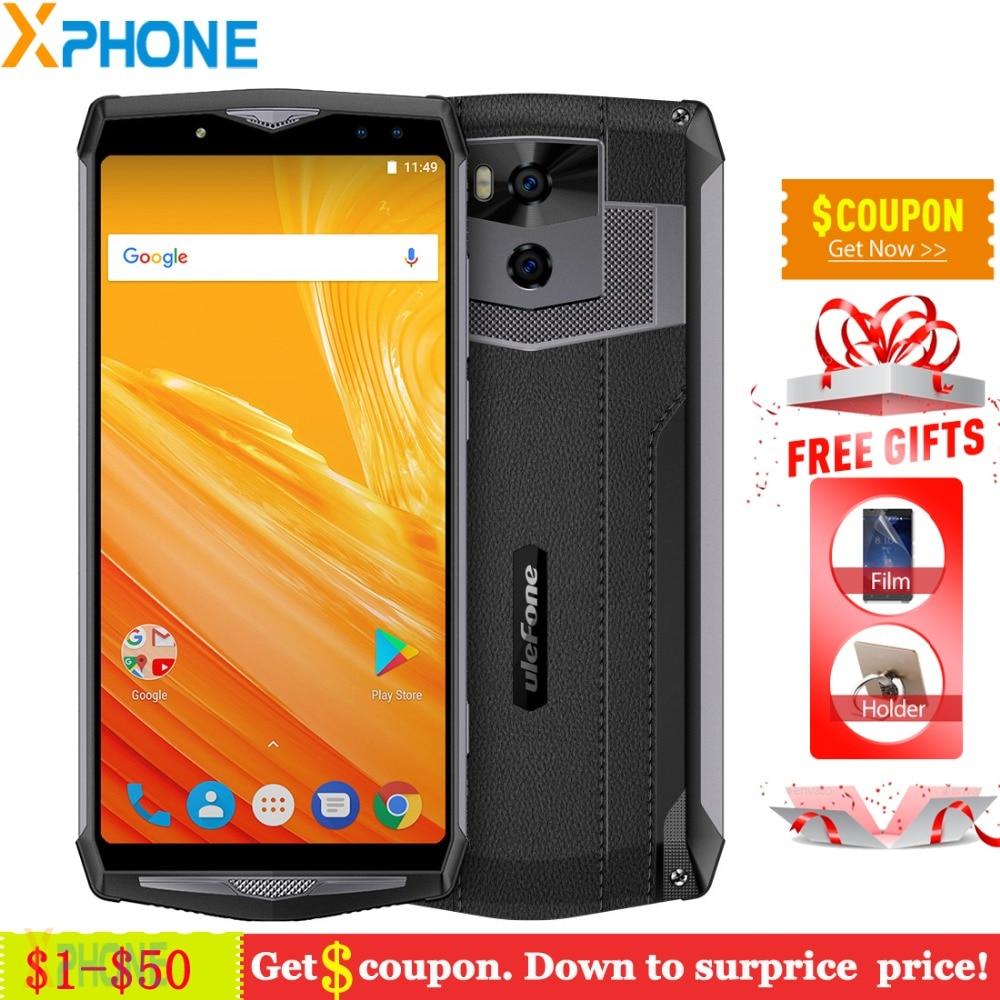 Ulefone Power 5 6GB 64GB 13000mAh 4G Smartphone 6 0 FHD MTK6763 Octa Core Android 8