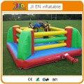 3*3 m bouncer inflável ringue de boxe. Inflável ringue de boxe para crianças