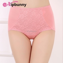 100% Cotton female lady sexy Lingerie Womens Briefs Bodybuilding Breathable Push up  high Waist Panties