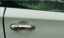 8 шт. Нержавеющая Сталь Автомобилей Дверные Ручки Крышка Для BMW X3 F25 2011-2015