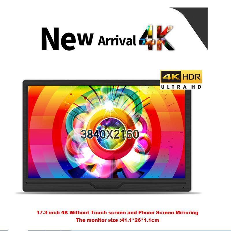 15.6 pouces 1080 P moniteur LCD portable 5mm ultra mince écran LCD pour Mac/PC/téléphone intelligent/PS4 Pro/XBOXONE
