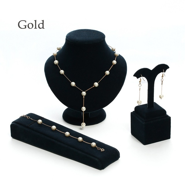 1 Set Pearl Chain Necklace...
