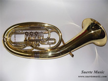 Bb Four Flat Baritone With Foambody case Brass wind musical instrument Free Shipping