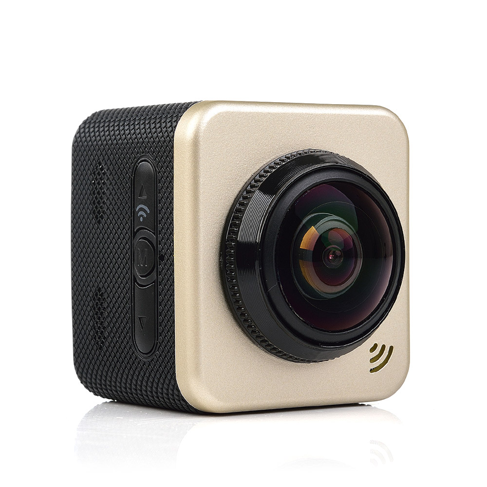 Здесь продается  Portable Hunting Camera Cube 360S Panorama WiFi 1080P Action Camera 1.5 Inch  LCD Display 180 Degrees VR Video Sport Camera  Спорт и развлечения